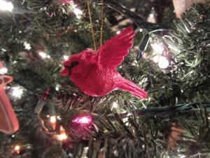 Cardinal Ornament 2012